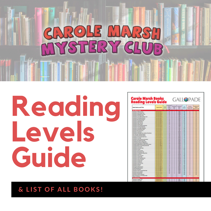 carole marsh mysteries reading levels guide