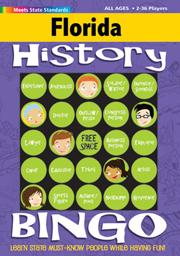 Florida History Bingo Game!