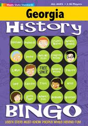 Georgia History Bingo Game!