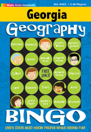 Georgia Geography Bingo Game!