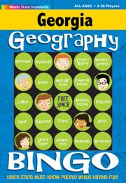 Georgia Geography Bingo Game!