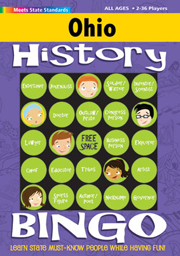 Ohio History Bingo Game!
