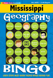 Mississippi Geography Bingo Game!