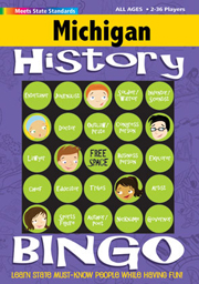 Michigan History Bingo Game!