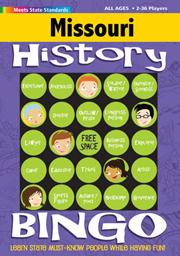 Missouri History Bingo Game!