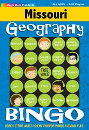 Missouri Geography Bingo Game!