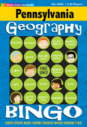 Pennsylvania Geography Bingo Game!