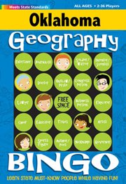 Oklahoma Geography Bingo Game!