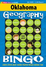 Oklahoma Geography Bingo Game!