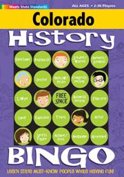 Colorado History Bingo Game!