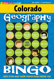 Colorado Geography Bingo Game!