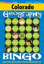 Colorado Geography Bingo Game!