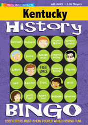 Kentucky History Bingo Game!