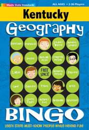 Kentucky Geography Bingo Game!