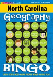 North Carolina Geography Bingo Game!