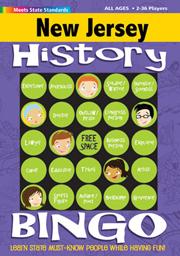 New Jersey History Bingo Game!