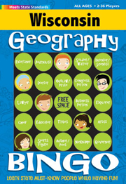 Wisconsin Geography Bingo Game!
