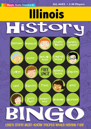 Illinois History Bingo Game!