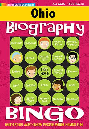 Ohio Biography Bingo
