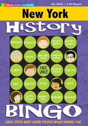 New York History Bingo Game