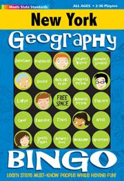 New York Geography Bingo Game