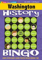 Washington History Bingo Game