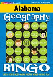 Alabama Geography Bingo Game