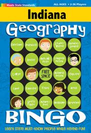 Indiana Geography Bingo Game