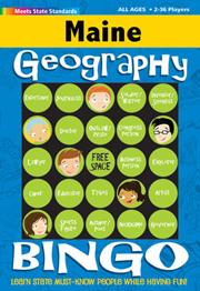 Maine Geography Bingo Game