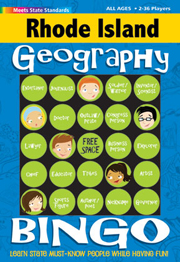 Rhode Island Geography Bingo Game