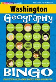 Washington Geography Bingo Game