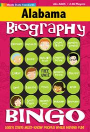Alabama Biography Bingo