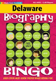 Delaware Biography Bingo