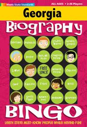 Georgia Biography Bingo