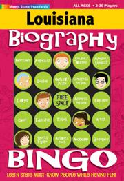 Louisiana Biography Bingo