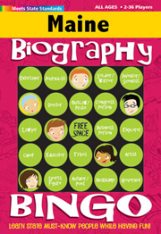 Maine Biography Bingo
