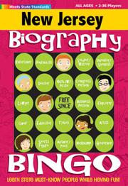 New Jersey Biography Bingo
