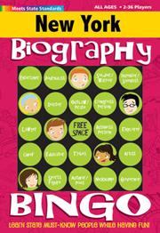 New York Biography Bingo