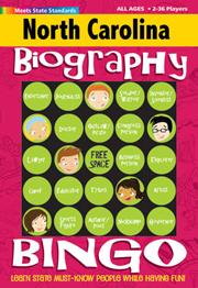 North Carolina Biography Bingo