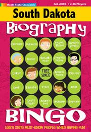 South Dakota Biography Bingo