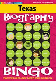 Texas Biography Bingo