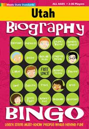 Utah Biography Bingo
