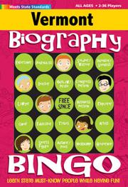 Vermont Biography Bingo
