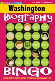 Washington Biography Bingo