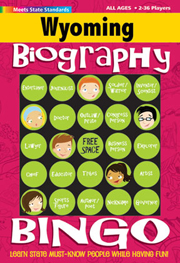 Wyoming Biography Bingo