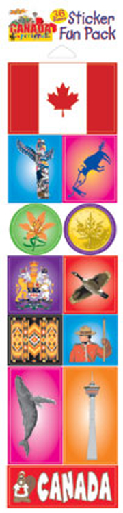 The Canada Experience Sticker Pack