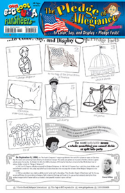 Pledge of Allegiance FunSheet - Pack of 30