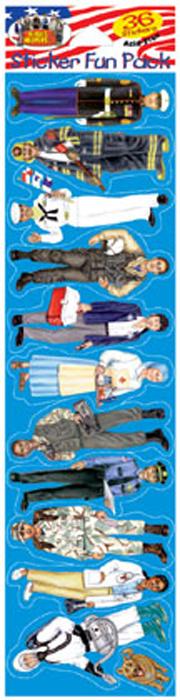 Heroes & Helpers Sticker Pack