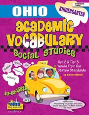 Ohio kindergarten Academic Vocabulary – Social Studies