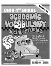 Ohio 4th Grade Academic Vocabulary – Social Studies – Student Book